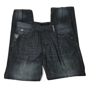 Sean John Pressed Creased Starched Jeans